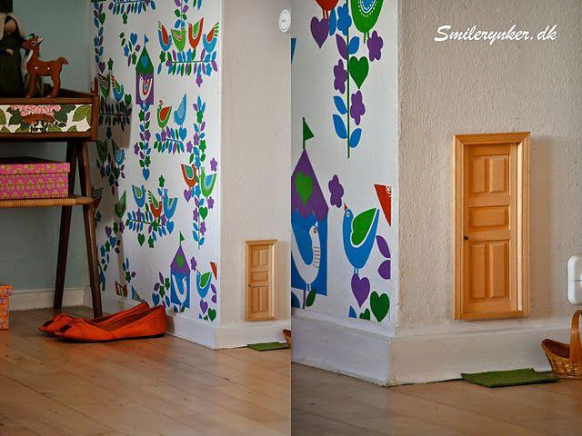 Hehehe. Fairy door.