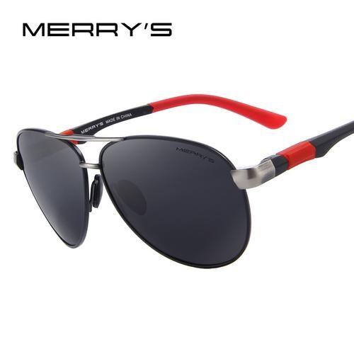 MERRY S Men Classic Brand Sunglasses HD Polarized Glasses Men s Polarized  Sunglasses S 8404 918c776585