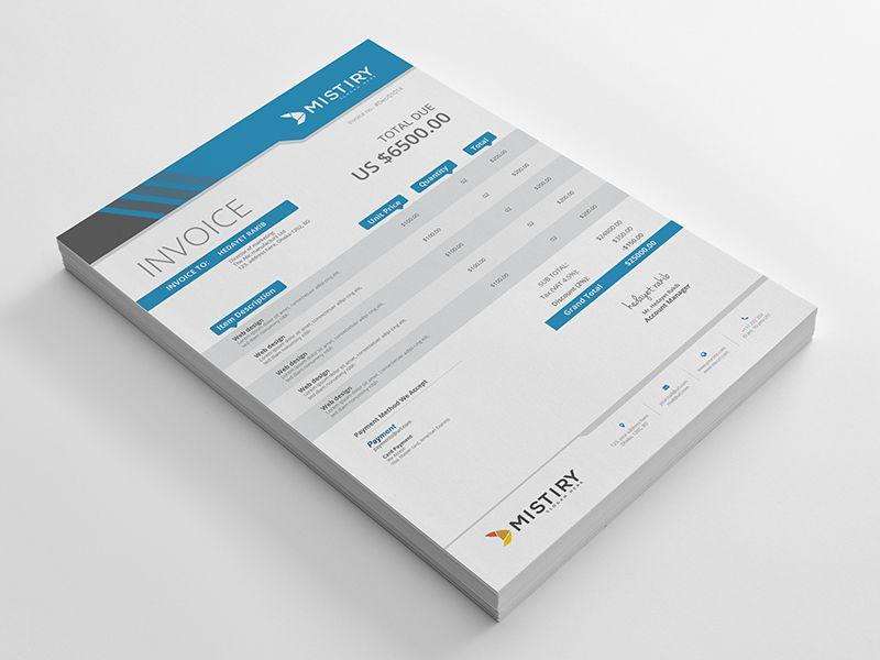Invoices Invoice Template Invoice Design Print Design Template