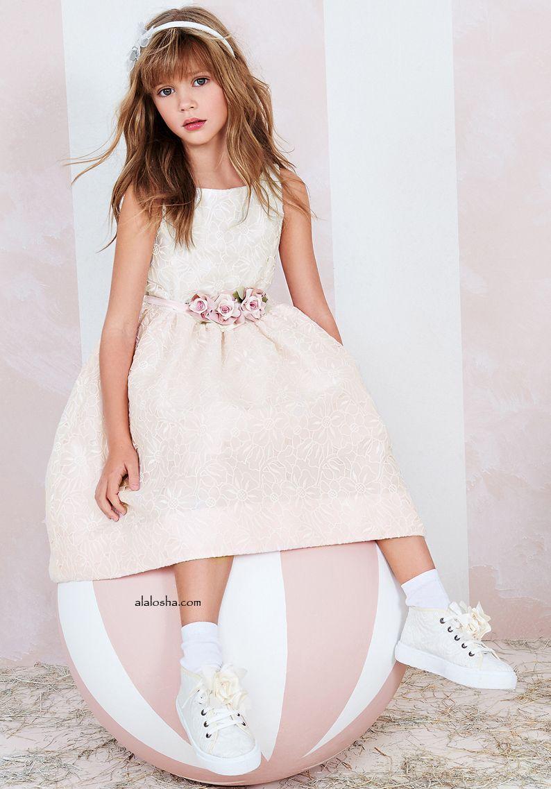 809c95963 ALALOSHA  VOGUE ENFANTS  Must Have of the Day  Monnalisa Couture SS 16 ·  Fiesta Para NiñosModa ...