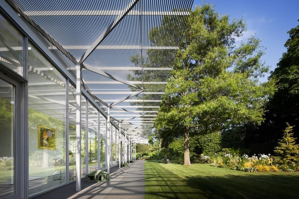 Fishers Island Glass House By Thomas Phifer And Partners Glass Pavilion Glass House Island House