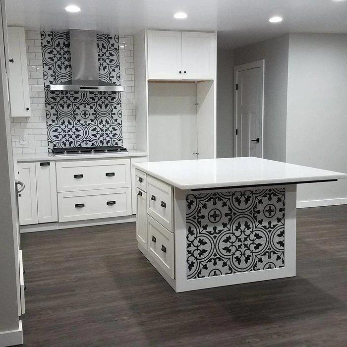 artea 9 75 x 9 75 porcelain field tile reviews allmodern kitchenbacksplash kitchentile on farmhouse kitchen tile floor id=20781