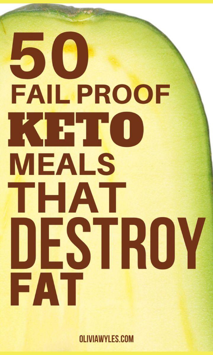 50 Quick & Easy Keto Recipes For Fat Loss