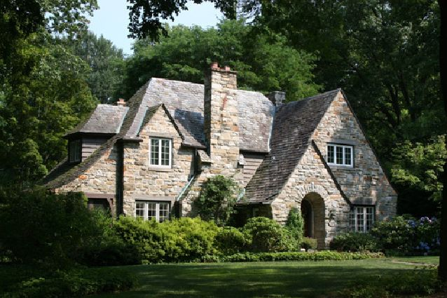 Tudor Revival Reigned Supreme Cottage House Plans Cottage Homes English Cottage Style