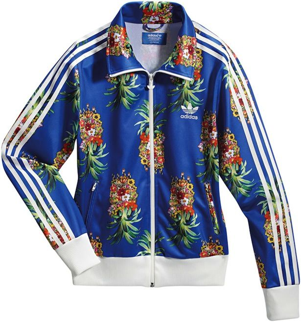 129d50bdbd0b8 Adidas Originals x Farm pineapple jacket Via www.nenz.net