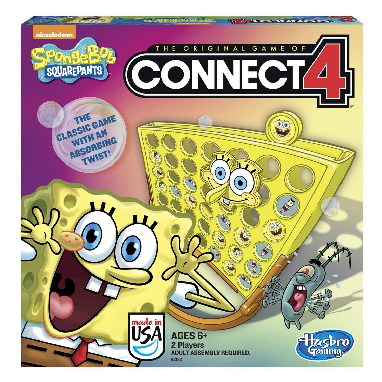 SpongeBob SquarePants Toy Classic Family Connect 4 Game