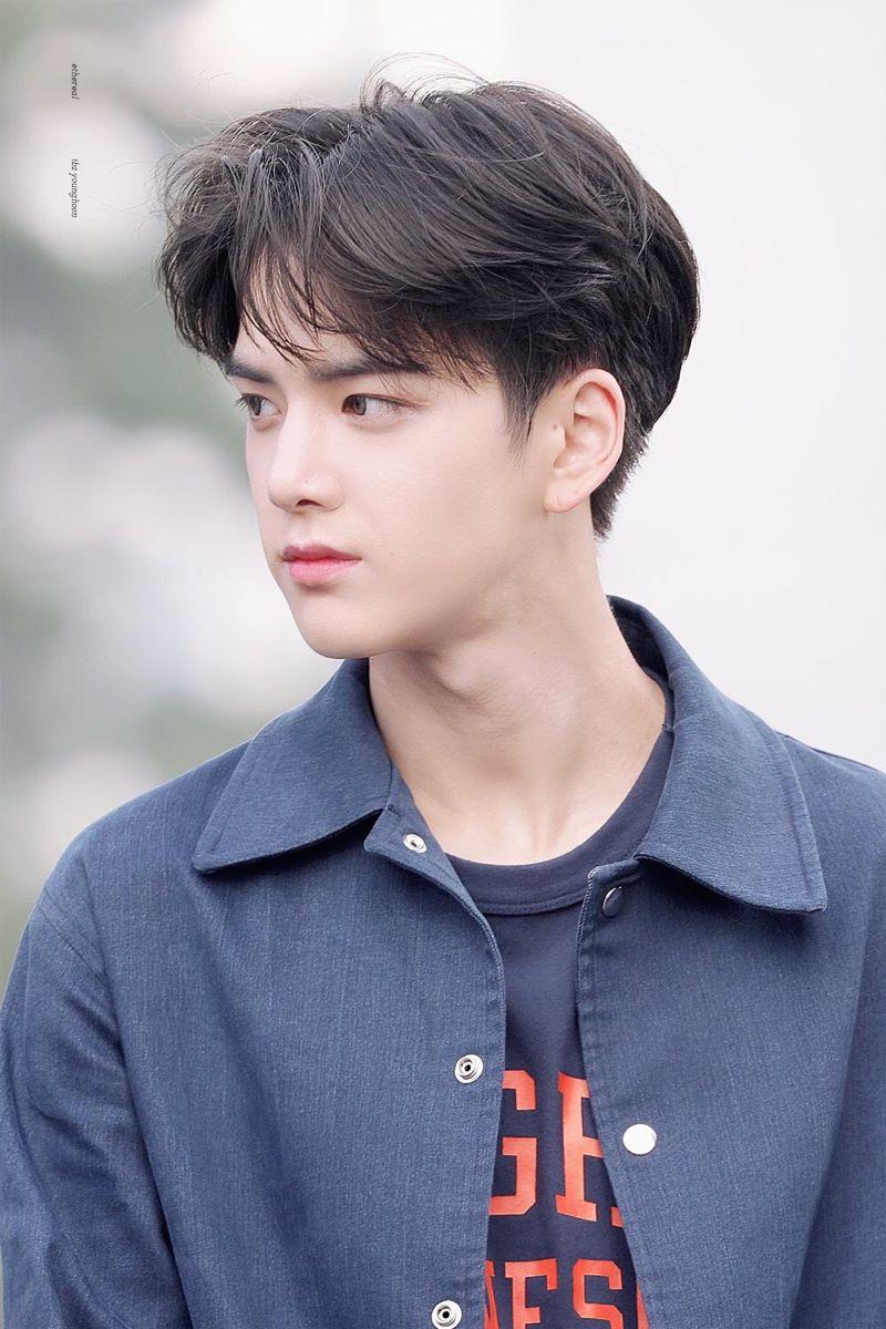 Younghoon The Boyz Rambut Pendek Pria Gaya Rambut Anak Laki Laki Pria Rambut Panjang