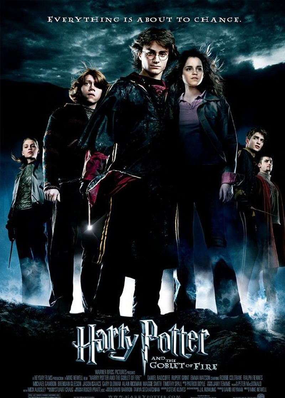 Harry Potter The Goblet Of Fire Harry Potter Movie