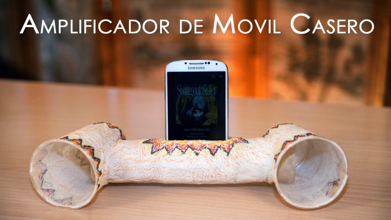 Amplificador de Telefono Movil Casero
