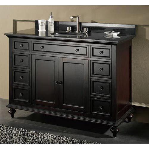 Design House Montclair X Inch TwoDrawer Vanity Granite - 21 inch bathroom vanity for bathroom decor ideas