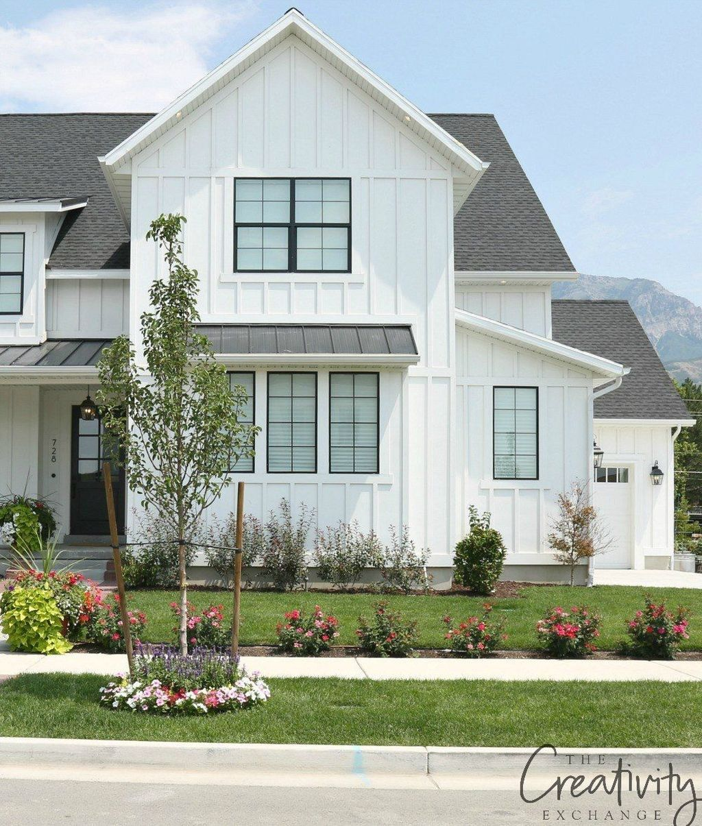 Modern Farmhouse Exterior Designs 11: Modern Farmhouse Exterior Designs Ideas 21