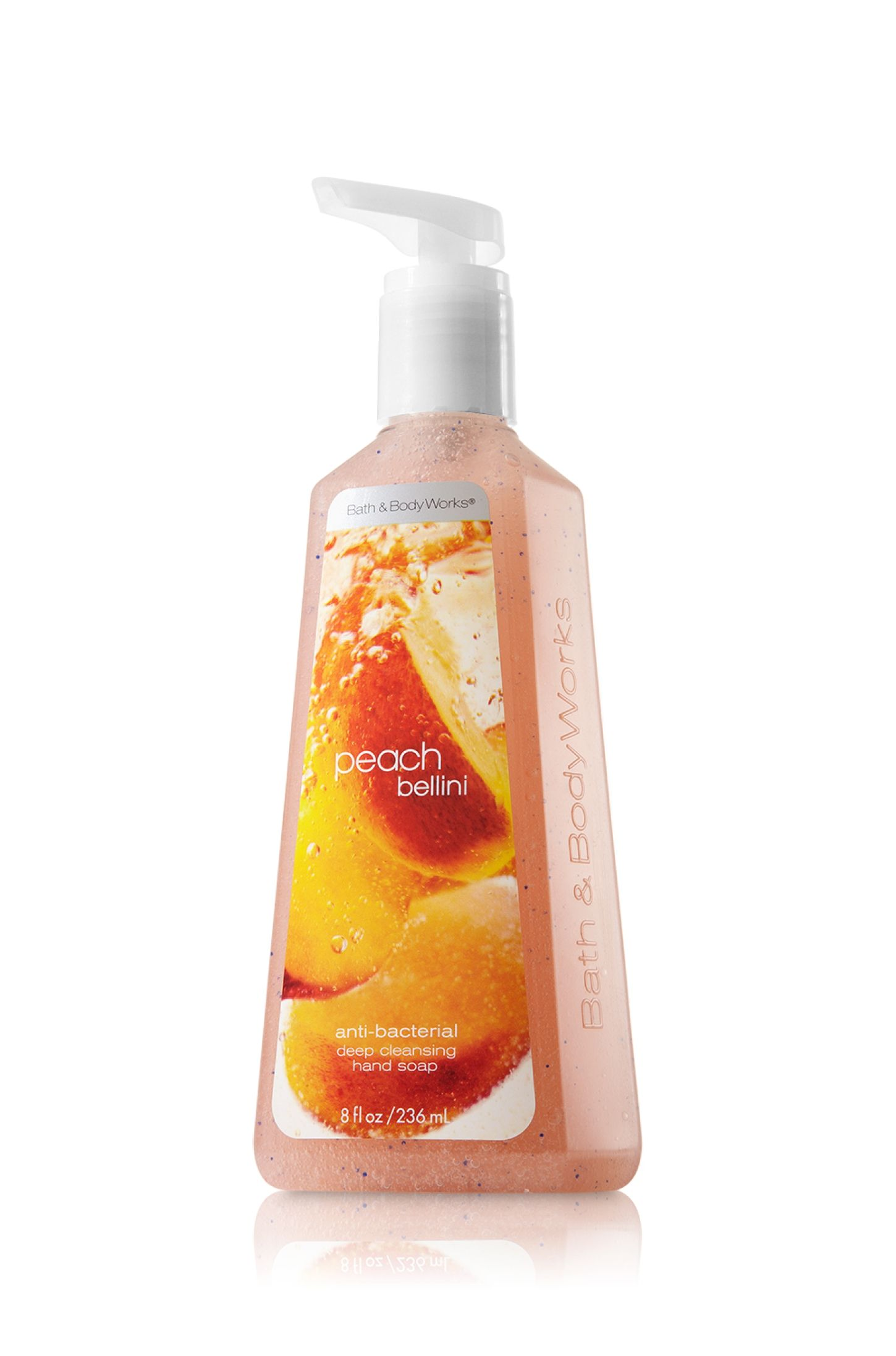 Peach Bellini Deep Cleansing Hand Soap Anti Bacterial Bath