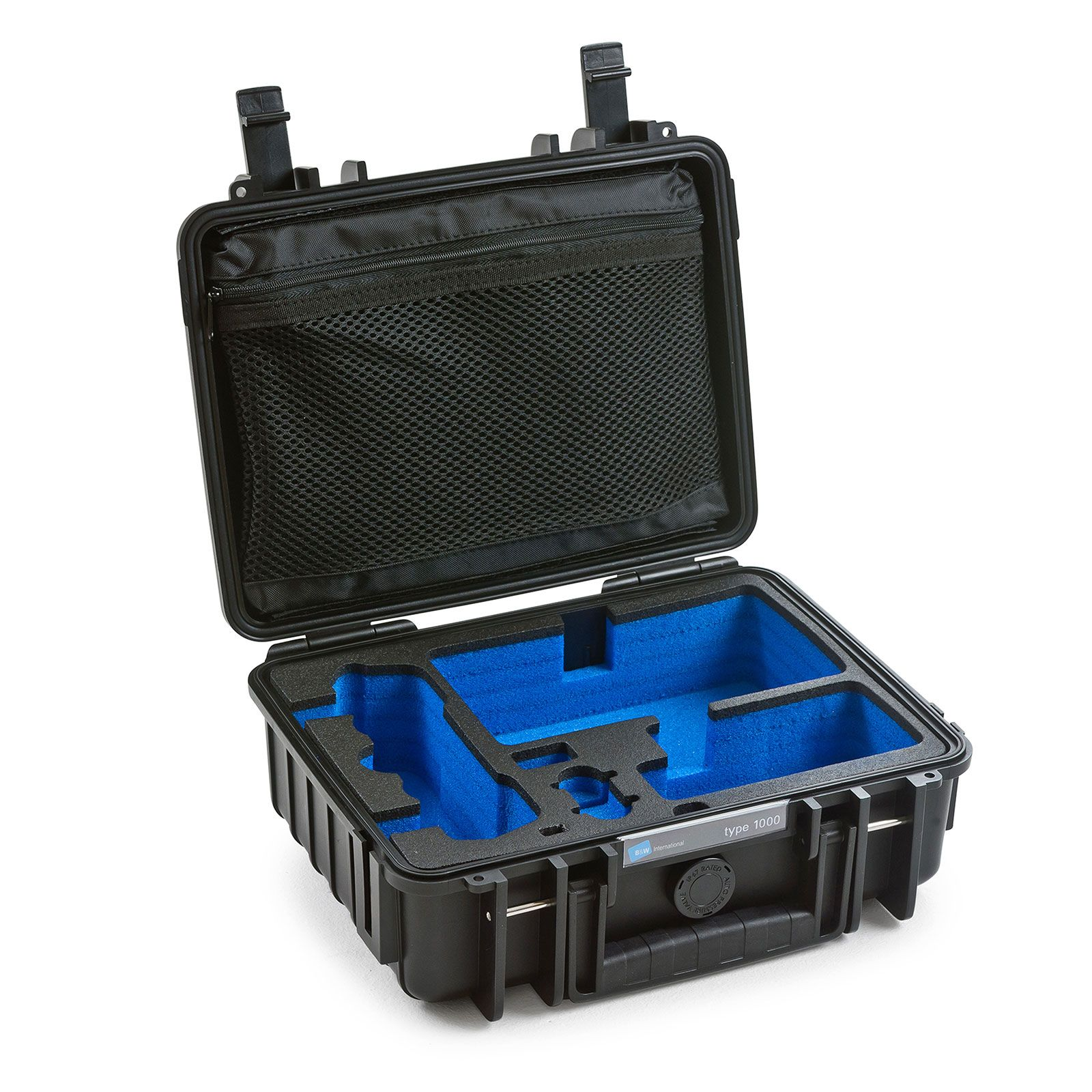 B&W Copter Case Typ 1000 für DJI Mavic Air grau mit