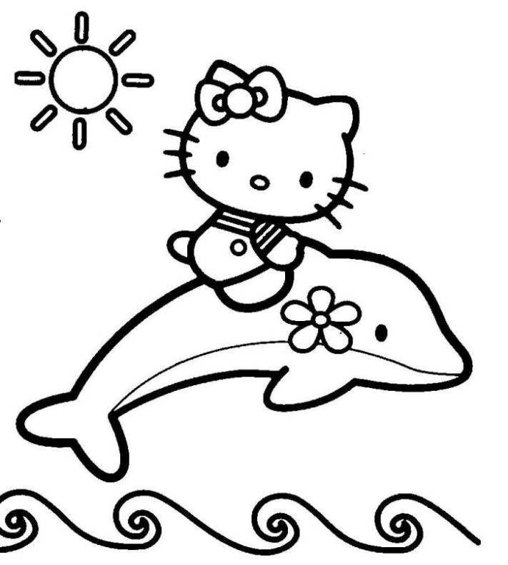 Print Hello Kitty Valentine Coloring Page Or Download Hello Kitty