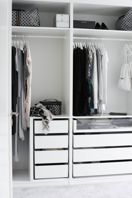 ikea pax inloopkast van mia home pinterest wardrobes. Black Bedroom Furniture Sets. Home Design Ideas