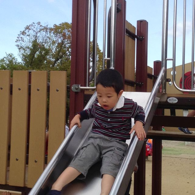 a nice day to play at the park.