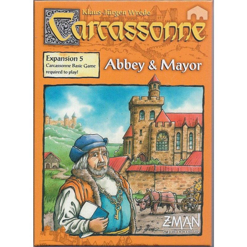 Carcassonne Expansion Abbey Mayor Carcassonne Collectie