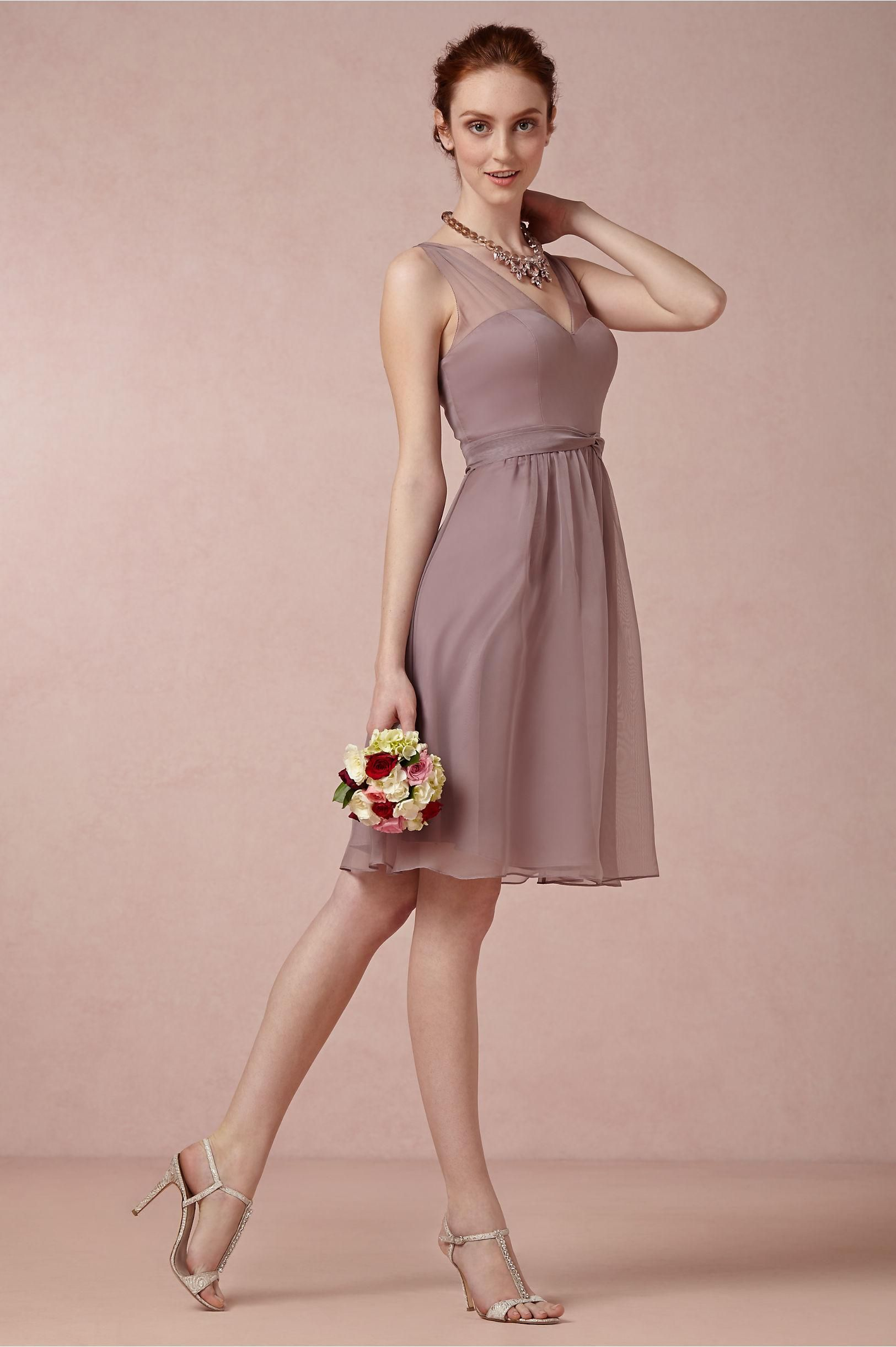 Ainsley Bridesmaids Dress in dusty mauve from BHLDN | Bridesmaid ...