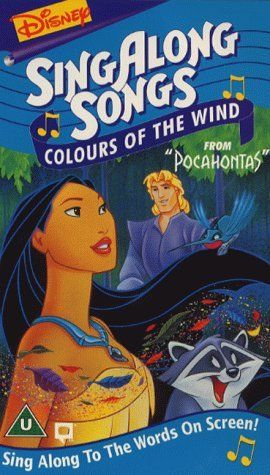 Disney Sing Along Songs Colors Of The Wind Uk Disney Singalong Sing Along Songs Songs To Sing