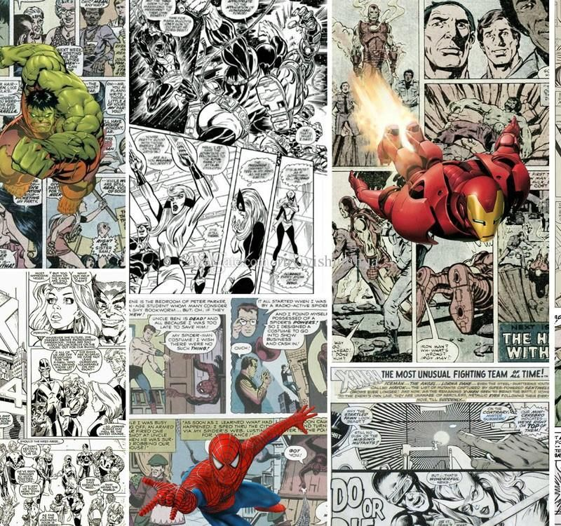 Marvel Comics Wallpaper For Walls Mural Kids