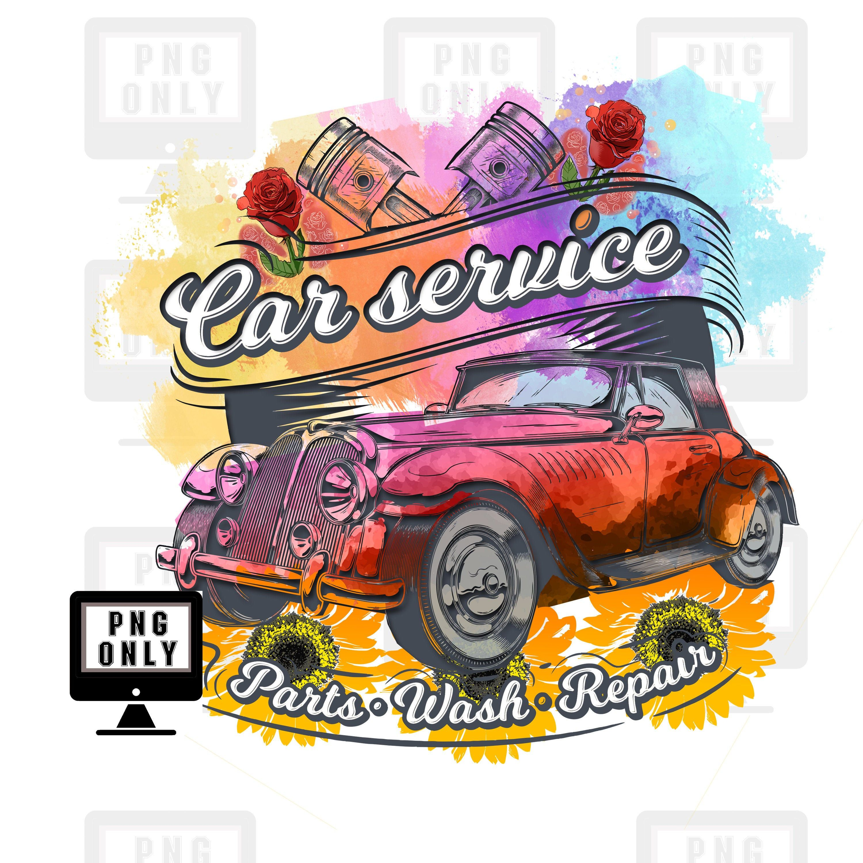 Colorful Classic Car Png Vintage Png Heart Red Color Png Etsy Png Digital Graphics Color