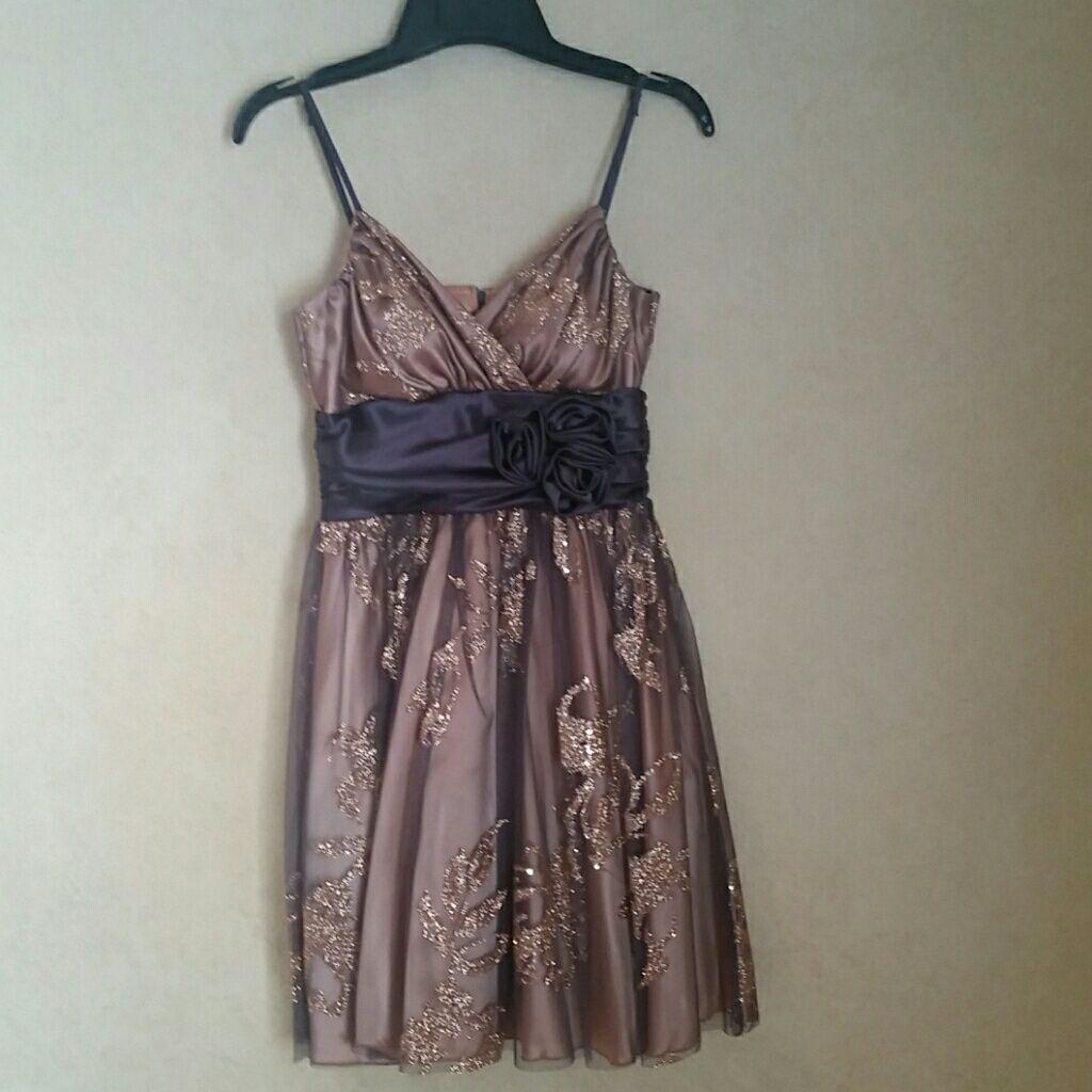 B darlin black lace dress  B Darlin Sparkle Dress  Products