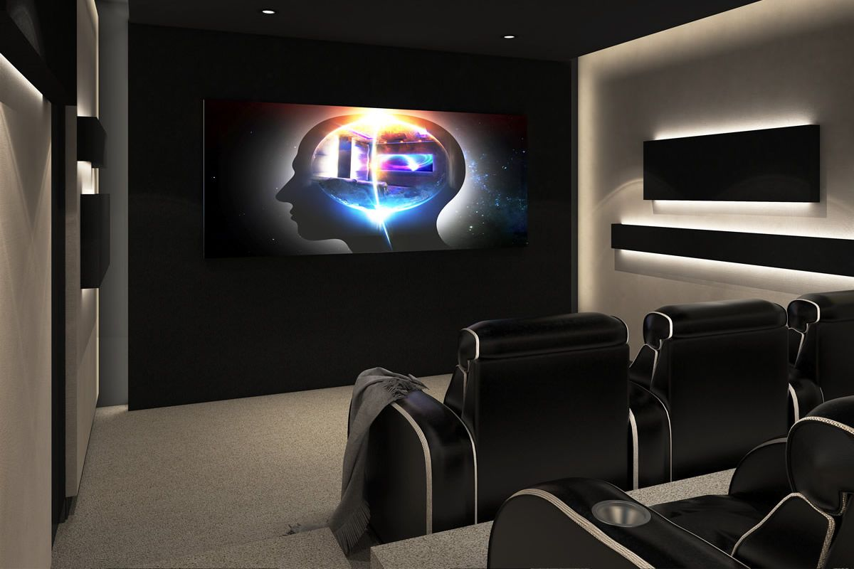 Best Kitchen Gallery: House Mak Modern Home Cinema Design Bnc Technology Home Cinema of Modern Home Theater  on rachelxblog.com