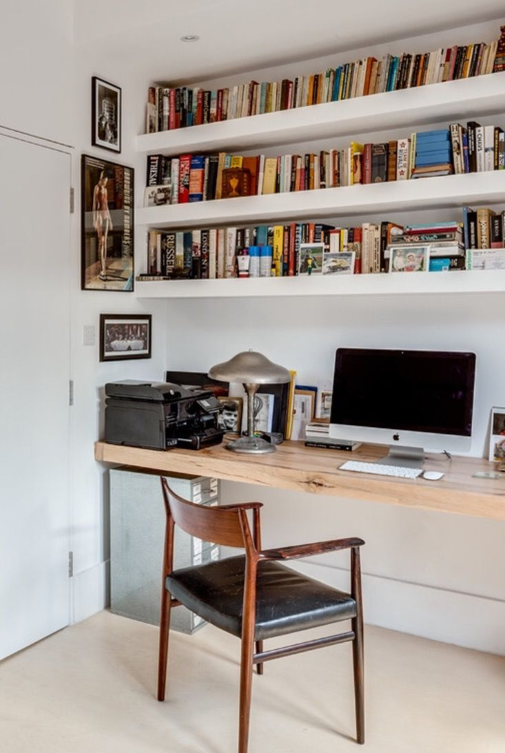Like the desk and built in shelves colour scheme project