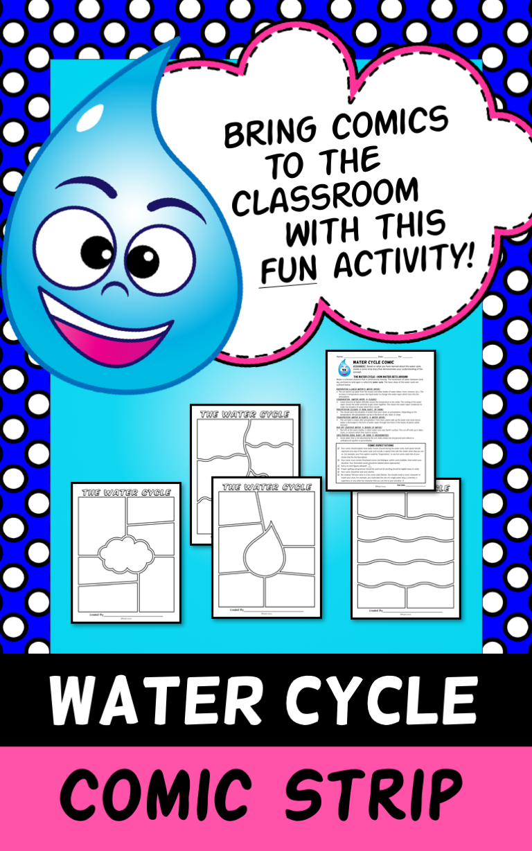 Students Will Create A Comic Strip Story That Demonstrates Their Knowledge Of The Water Cycle
