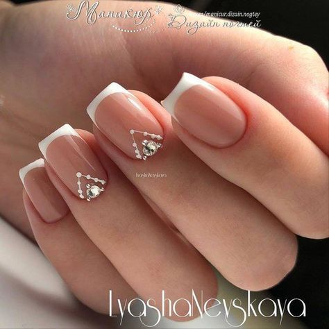 33+ Ideas For French Manicure Long Nails Fashion
