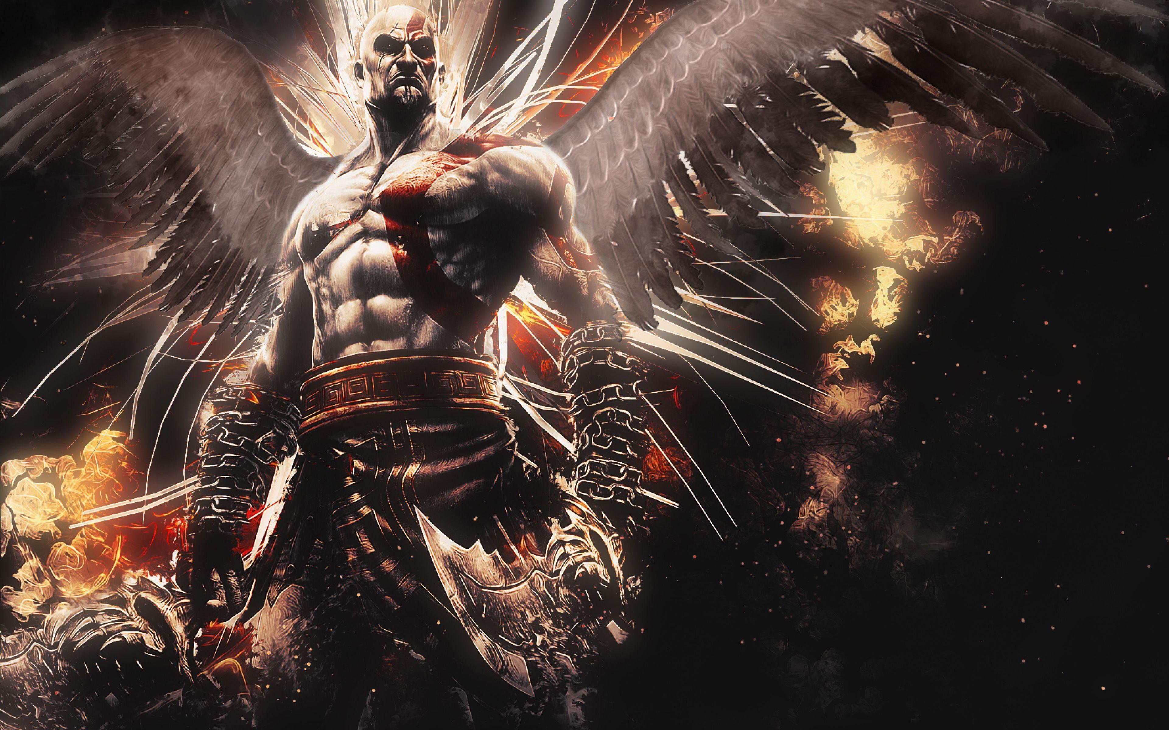 Ultra Hd K God Of War Wallpapers Hd Desktop Backgrounds Kratos God Of War God Of War Custom Canvas Art