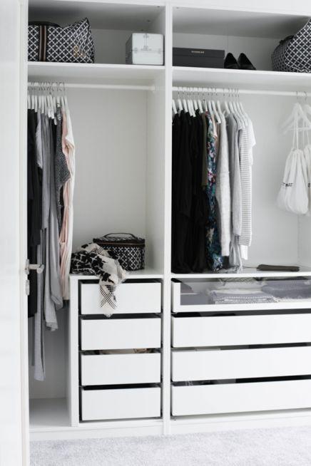Ikea Pax Begehbarer Kleiderschrank Von Mia Dekovit Schrank