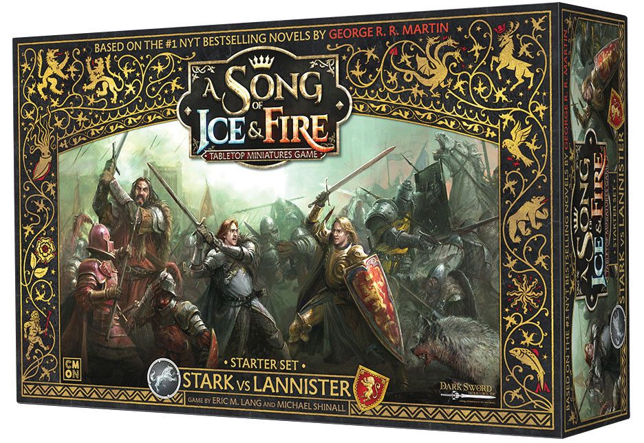 Game Of Thrones Got A Song Of Ice And Fire Stark Vs Lannister