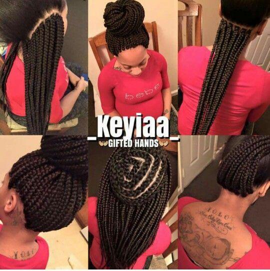 Pin By Melaningodess On Rope Twist Box Braids Crochet Box Braids Hair Styles Crochet Braid Styles
