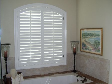 Image Result For Plantation Shutters With Arch Window House 2016 Pinterest Window Bath