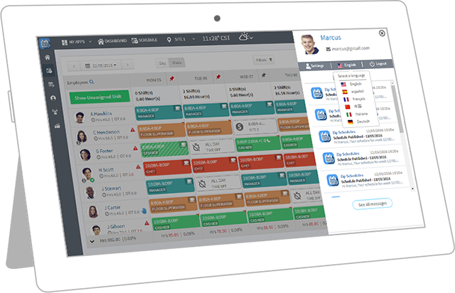 Create Distribute And Communicate Your Next Work Schedule In