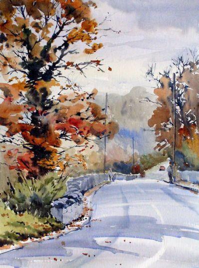 Pinterest The World S Catalog Landscape Paintings Watercolor
