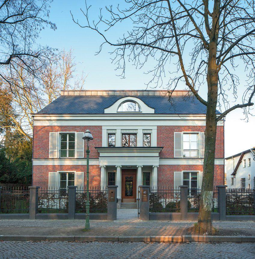 Villa Dahlem haus weyhe freistehende backstein villa in berlin dahlem ralf