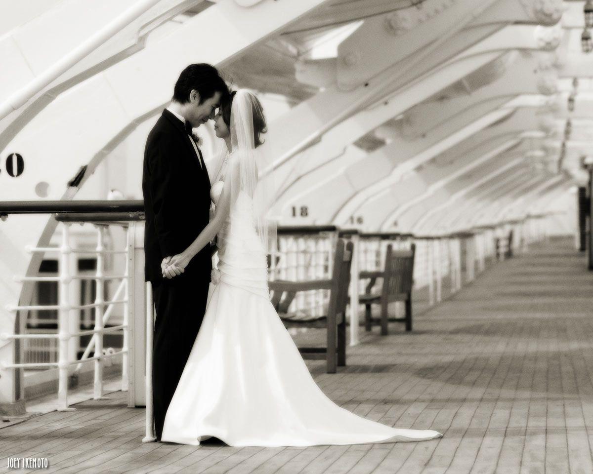 Long beach wedding photographer  The Queen Mary Photos  Unlike any other Long Beach Hotel California
