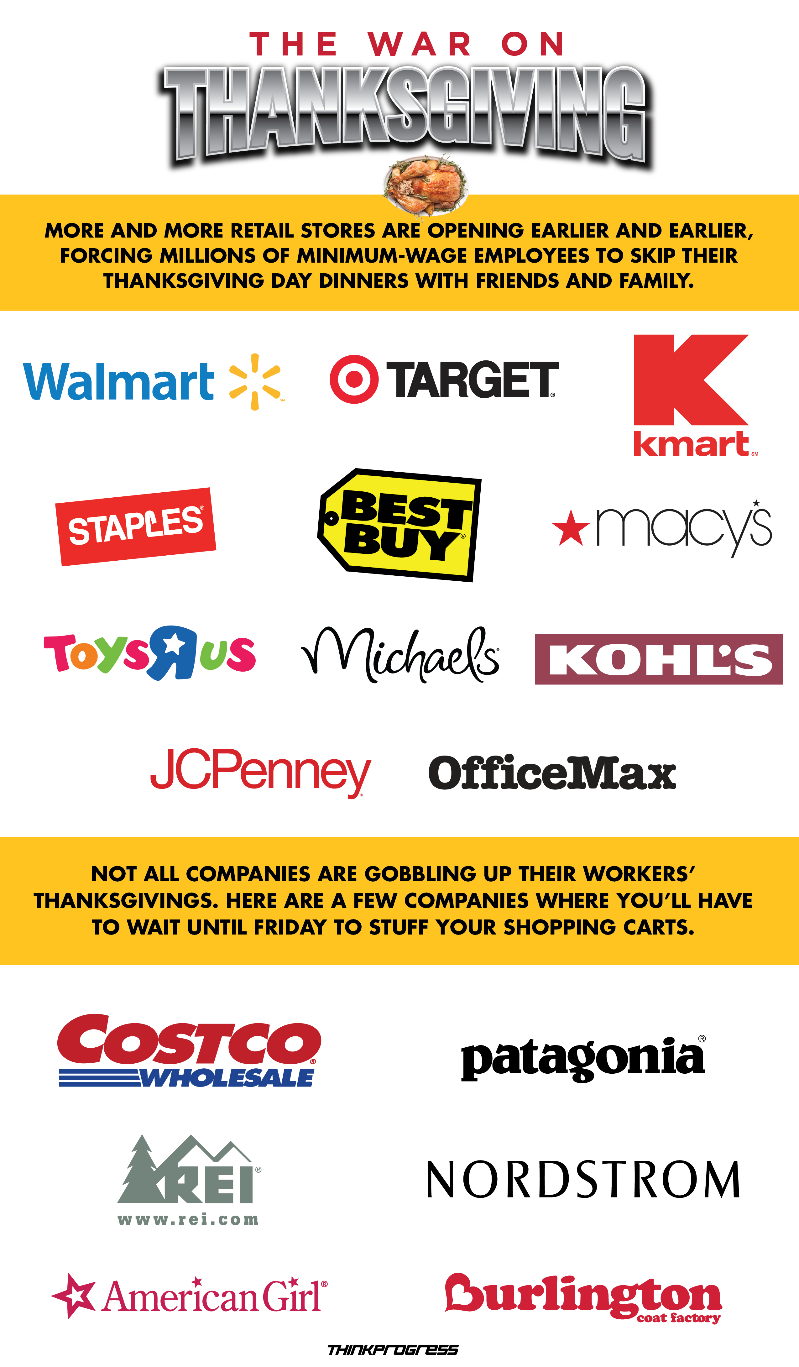 What Stores Will Be Open And Closed On Thanksgiving Day For