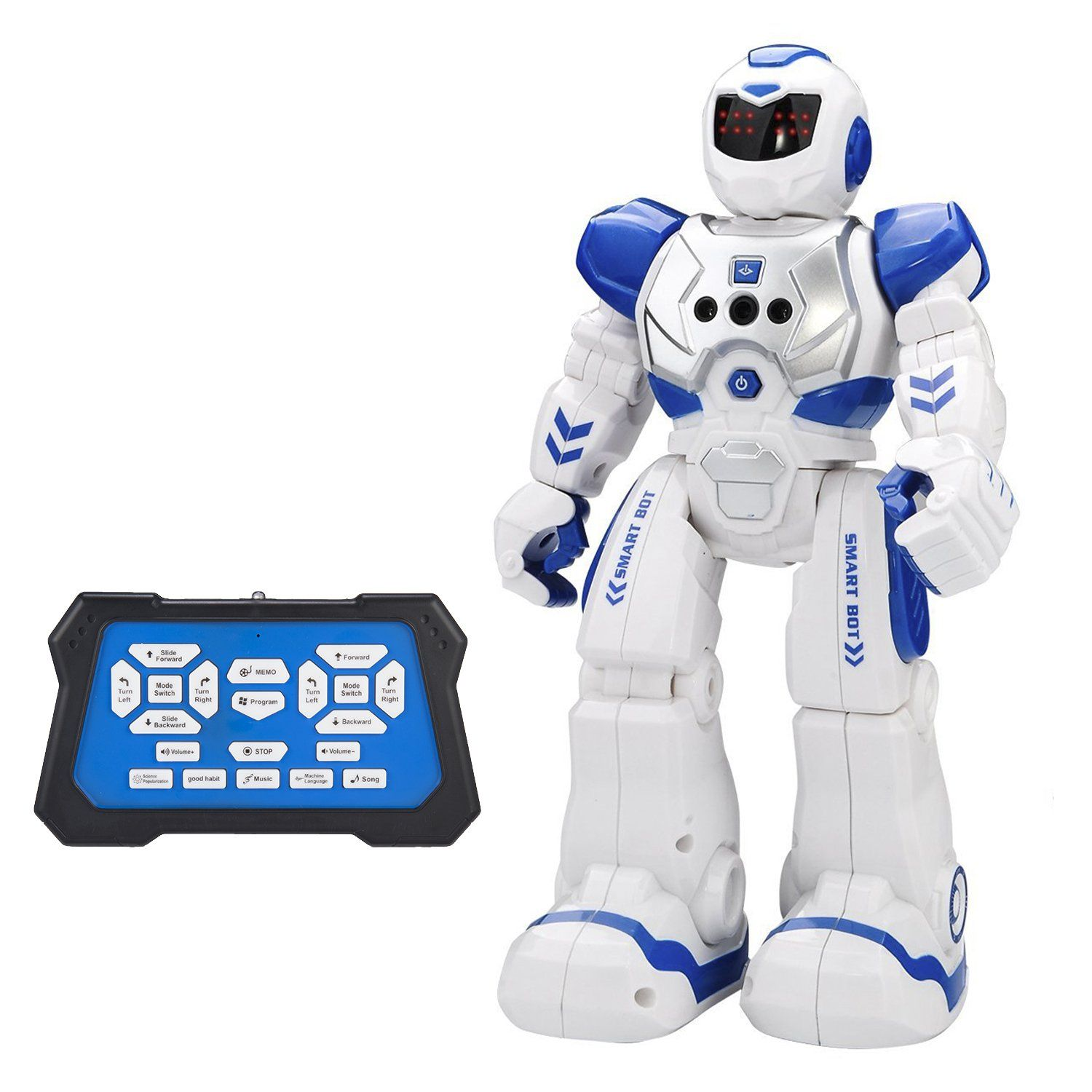 Remote Control Robot Kids Toys CHOTOP RC Humanoid Robot Kit for