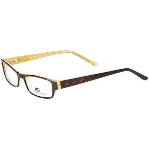 JLo Frames With Case, Brown & Yellow | Eyeglasses | Pinterest | Brown