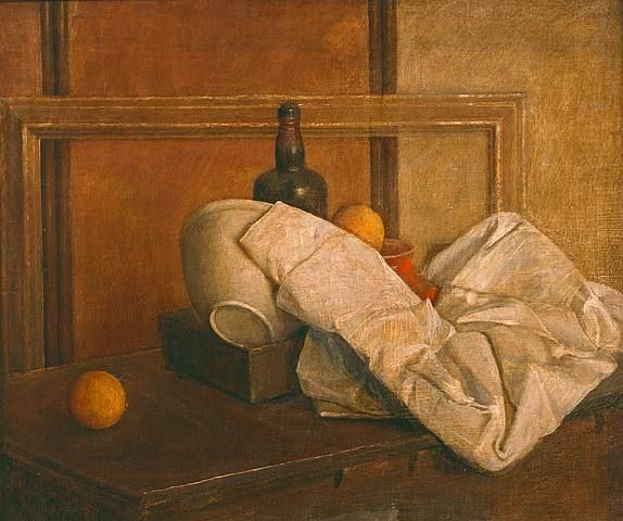 Still Life with Oranges #1 by Isabel Bishop