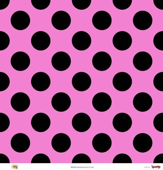 pink amp black polka dots texturas pinterest pattern