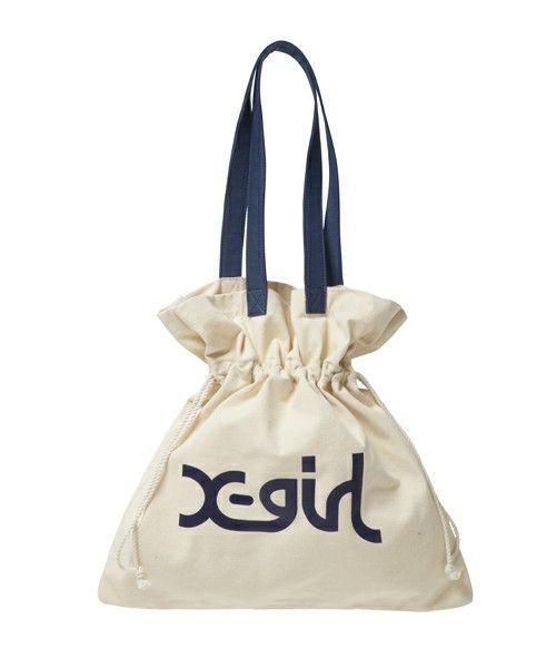 45db9674df6a 【ZOZOTOWN】X-girl(エックスガール)のショルダーバッグ「GATHERED CANVAS