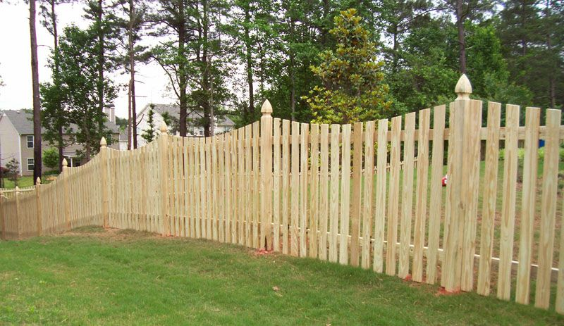 Cheap Fence Ideas Decorative Fencing Wood Picket Fence
