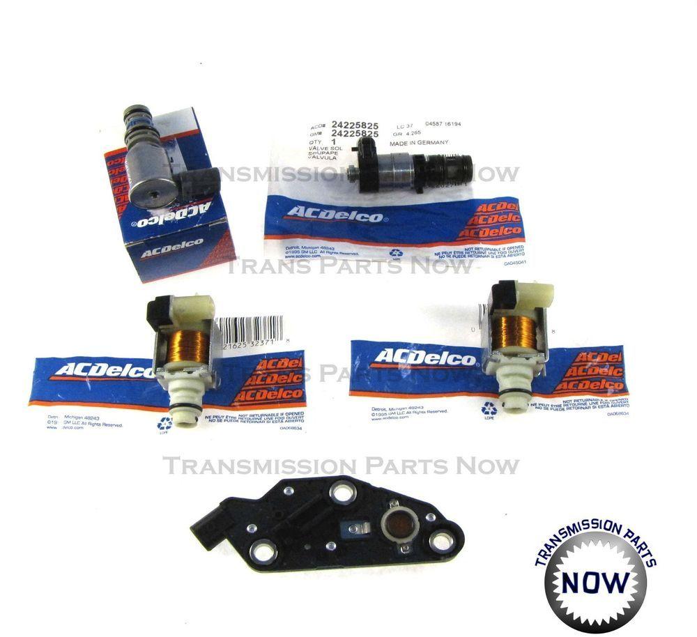 Details About 4T65E Transmission Solenoid Kit Set TCC, 2