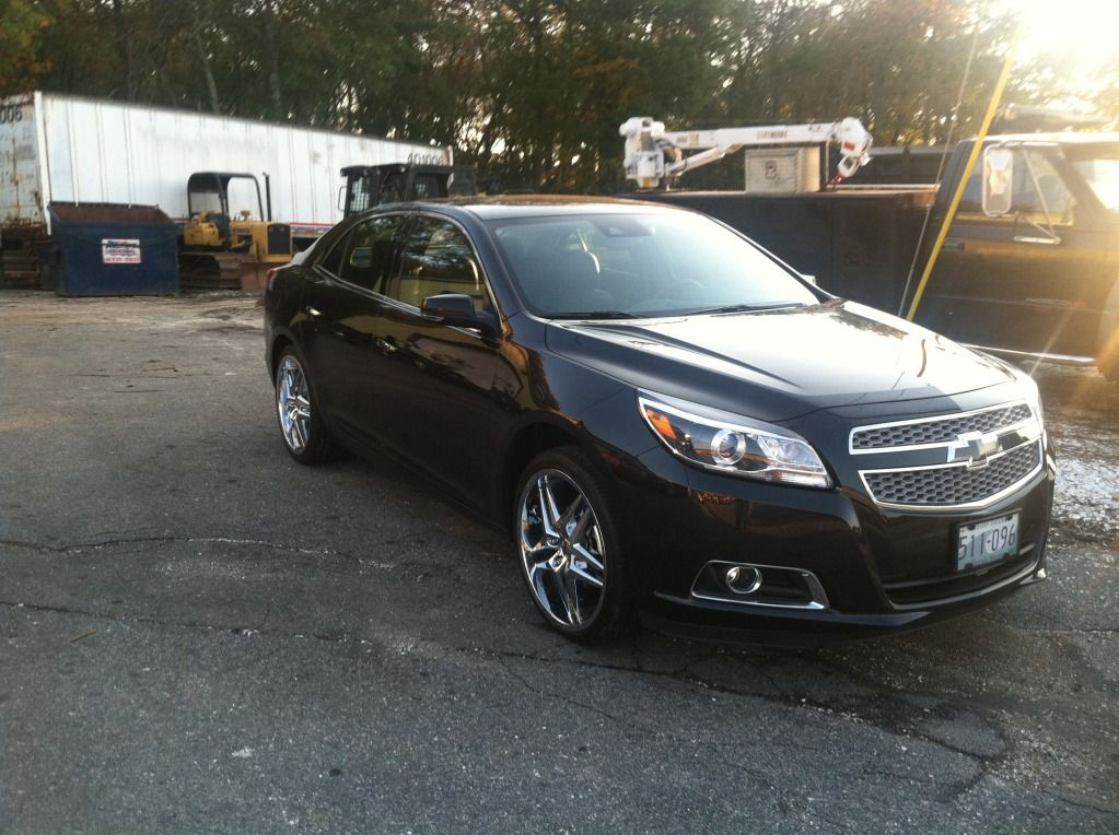 2013 Chevy Malibu With Rims Find The Classic Rims Of Your Dreams
