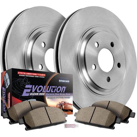 Autospecialty Koe1065 Stock Replacement Brake Kit Front And Rear