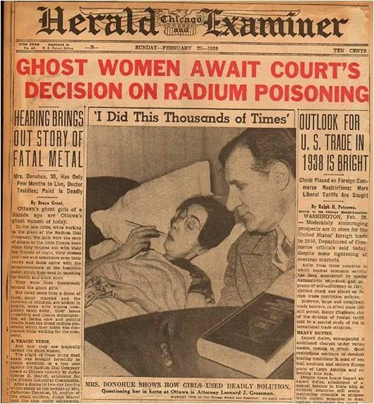 Miracle Body And Paint >> radium girl … | Radium girls, History, Vintage medical